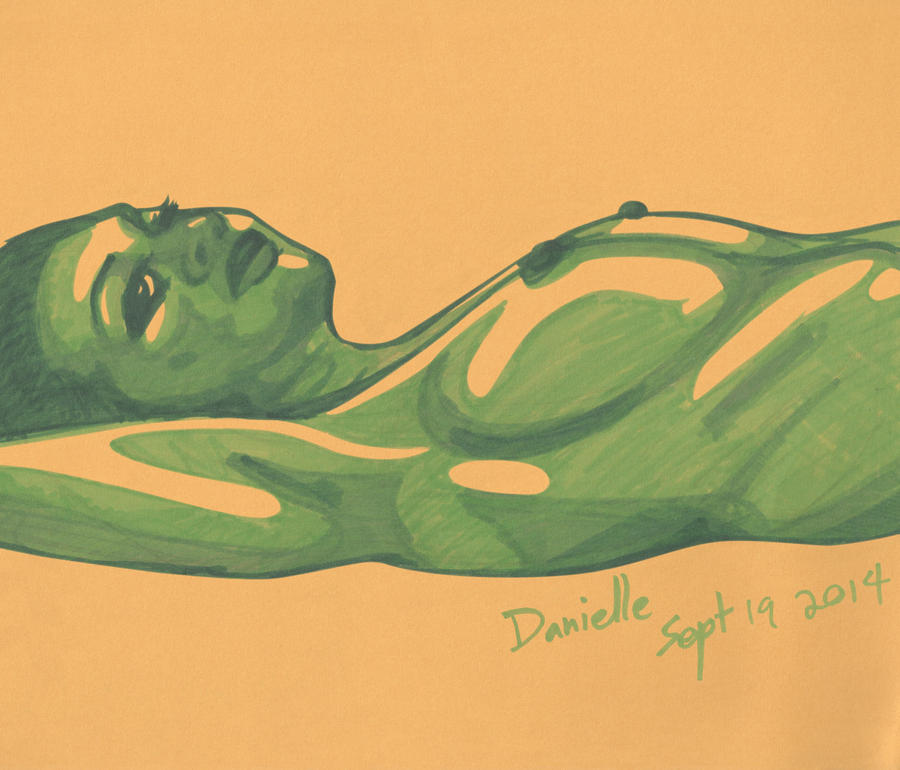 Lifedrawing - Danielle Side by Juandfr