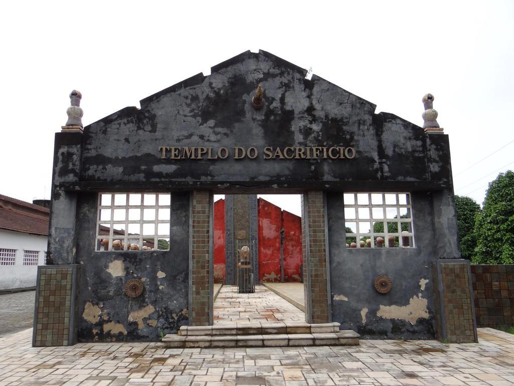 Templo do sacrificio by silvio-feitosa