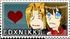 EdxNikki Stamp by MetalHeartAlchemist