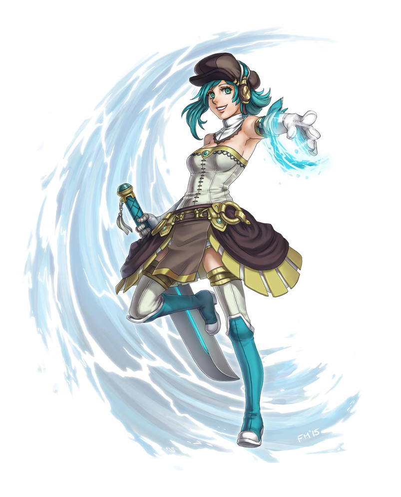Not so Aqua by Sessie