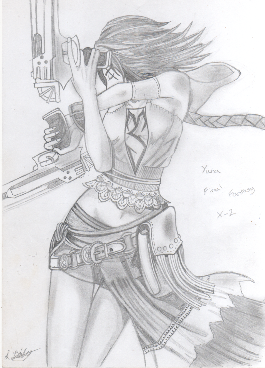 Yuna gunner by katebushfanatic