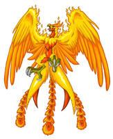 Phoenix by 0-Gryphus-0