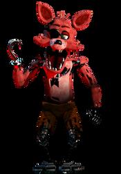 Foxy Full Body Redux by AntonioRodriguez1000