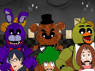 MHA Halloween Special: Spending Night at Freddy's by AntonioRodriguez1000