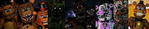 (SFM/FNAF): Any Type of Freddy Fazbears by AntonioRodriguez1000