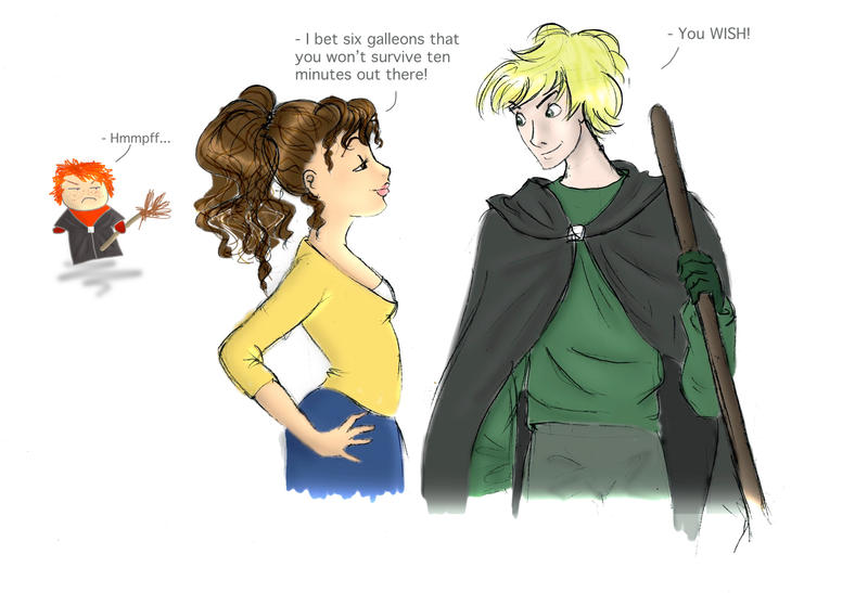Hermione and draco are secretly dating fanfiction