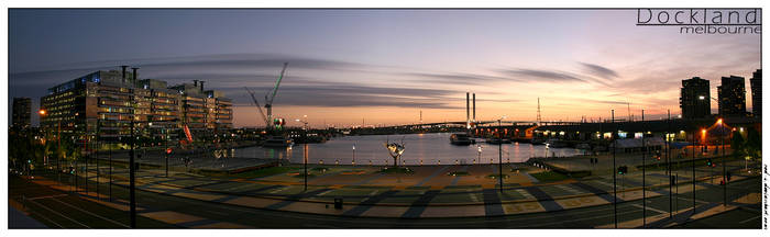 docklands - panoramic view