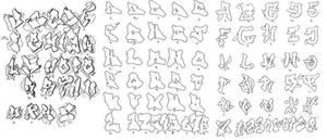 alphabet by Darktagger