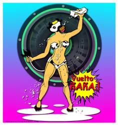 ilustracion en Gimp + mouse.2012 by tnavarro2706