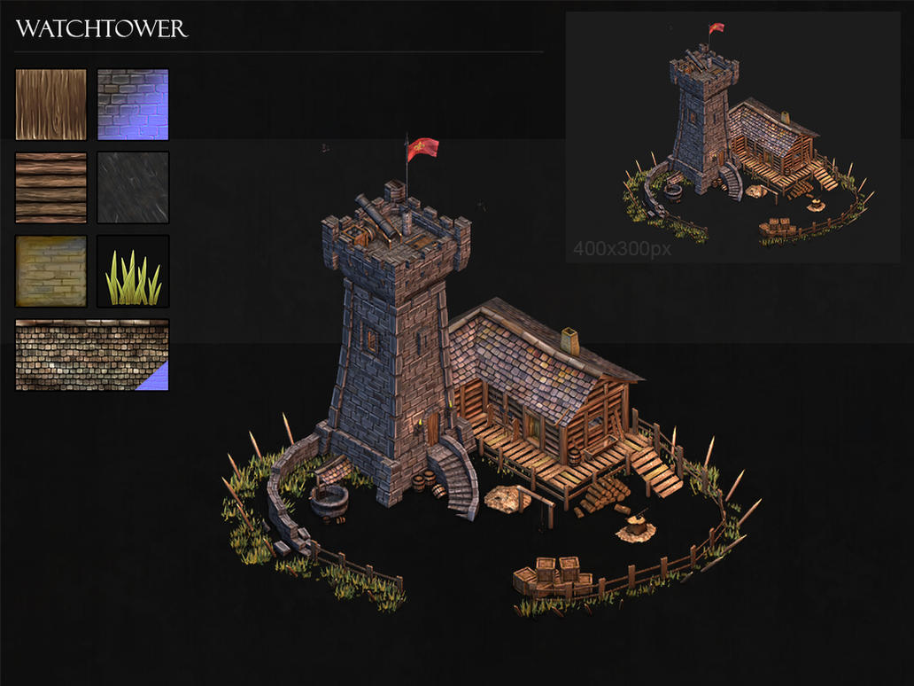 Watchtower by BoChicoine