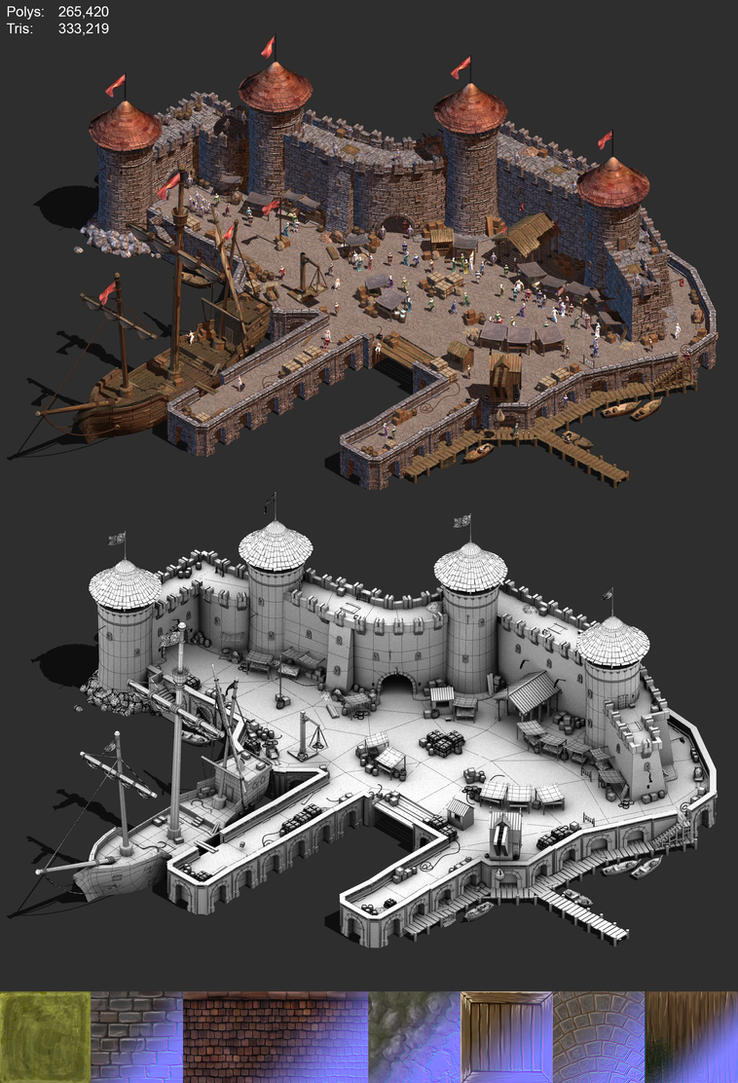 Medieval Docklands by BoChicoine
