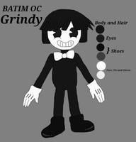 Grindy - Ref sheet (BATIM OC) by academian