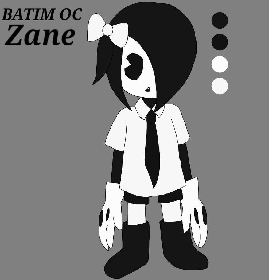 Zane - BATIM OC (Ref Sheet) by academian