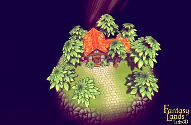 Fantasy Lands small island showcase by Tarko3d