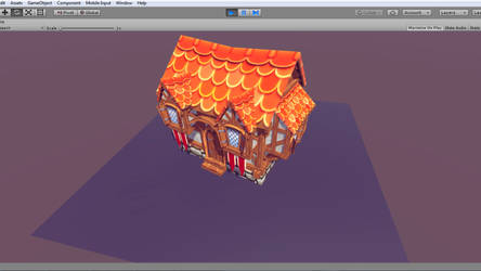 Closeup medieval fantasy house - Fantasy Lands by Tarko3d