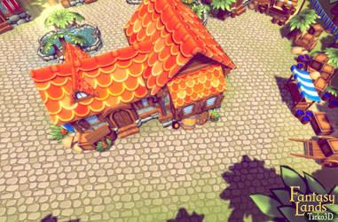 Fantasy Lands - demo scene screenshot by Tarko3d