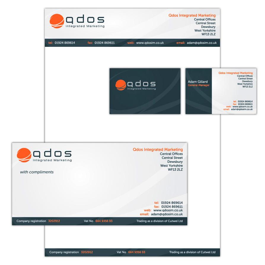 Qdos Stationery by yawiec