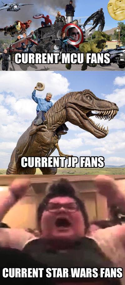 Star Wars Fanbase meme.