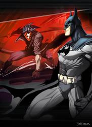 Diablo   Batman by el-grimlock