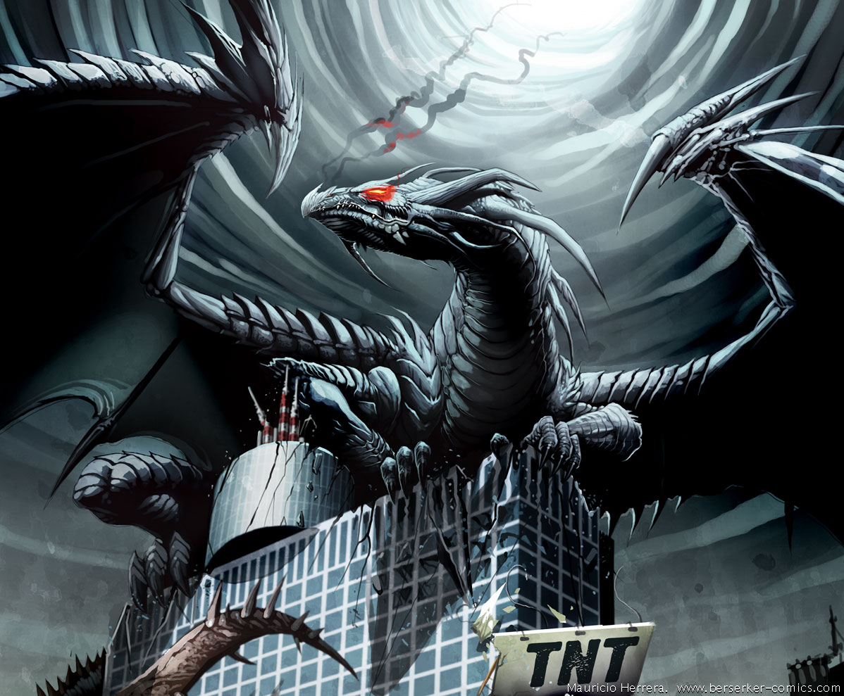 IM The king of dragons fear me!