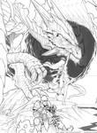 Dragon vs Ella en BW