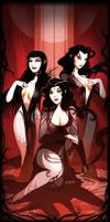 Brides of Dracula by el-grimlock