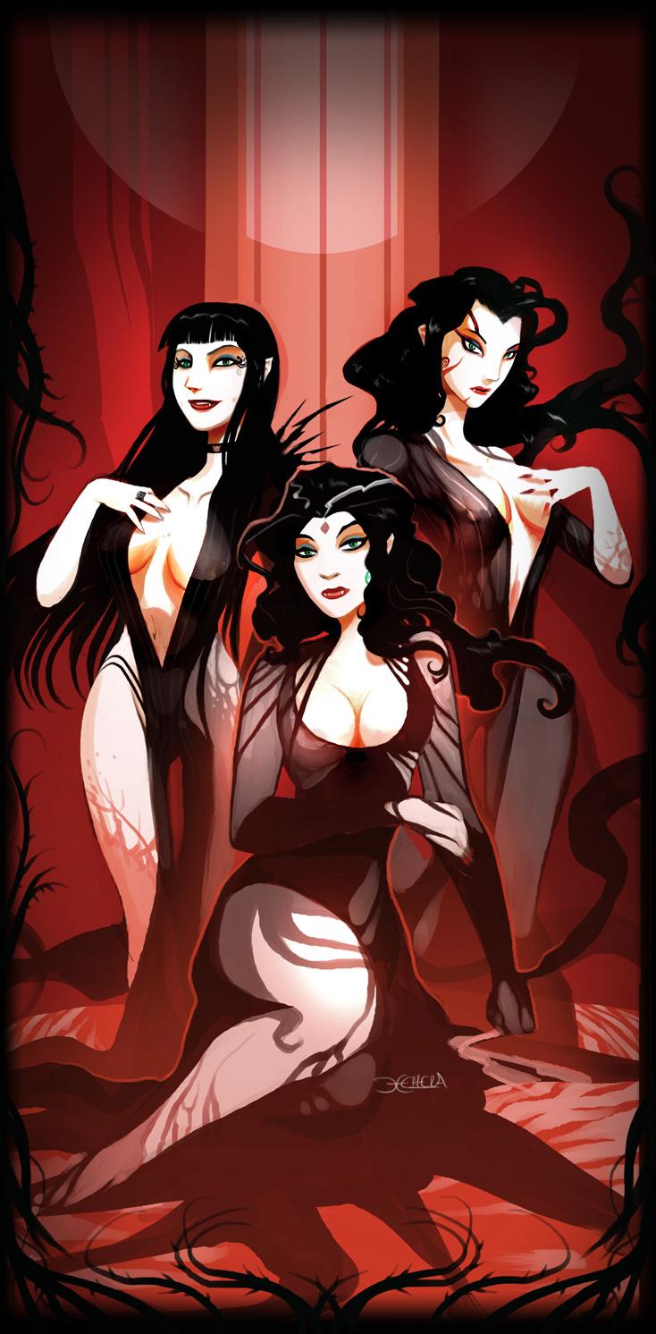 sexy vampire poster - photo #11