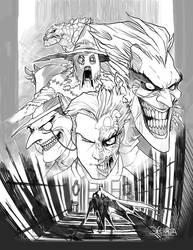 Arkham BW by el-grimlock