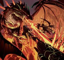 dragon sktch by el-grimlock