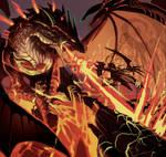 dragon sktch