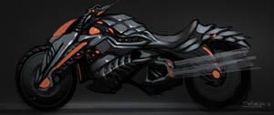 Diablo moto by el-grimlock