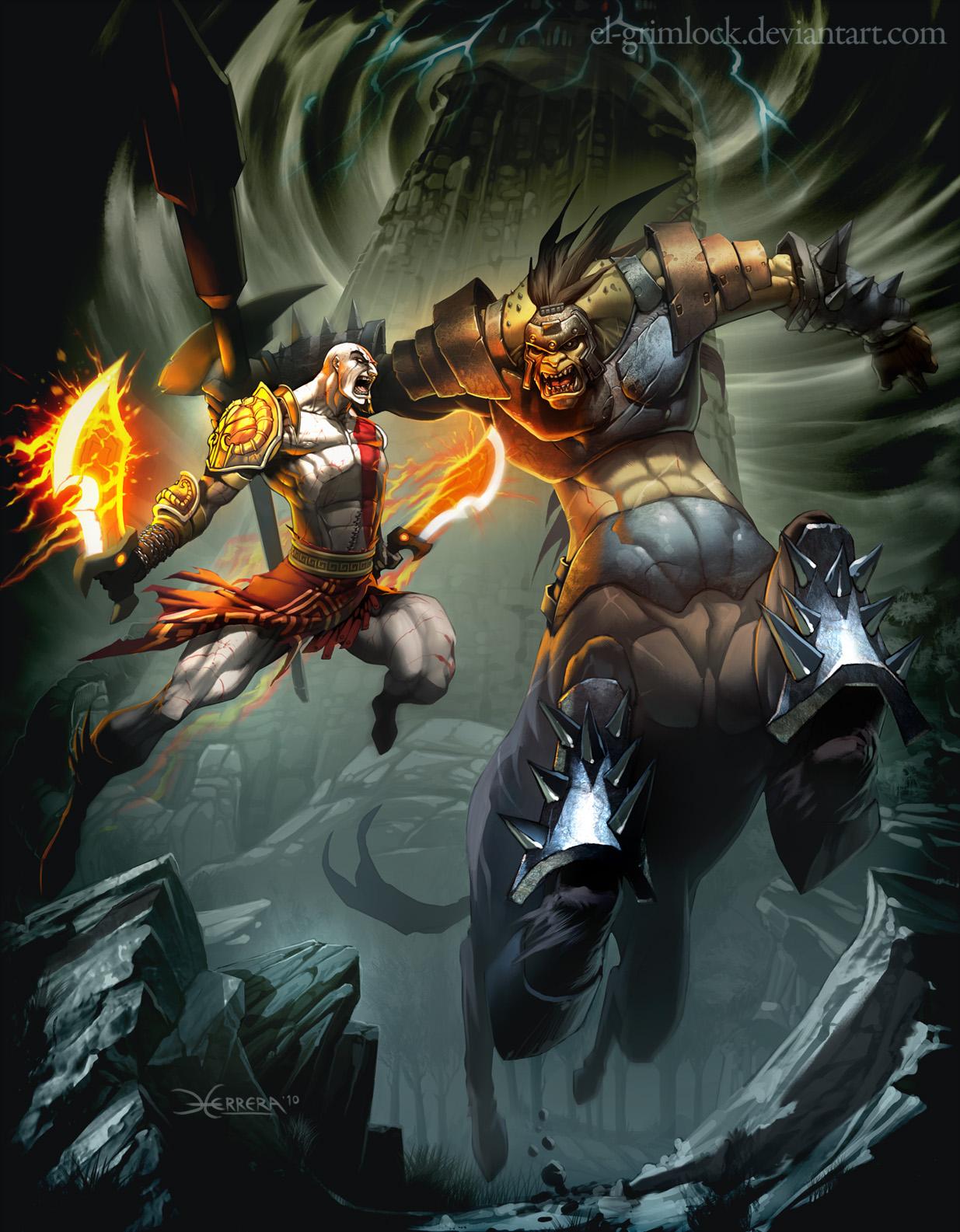 God of War 3 by el-grimlock