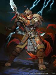 Genghis Khan by el-grimlock