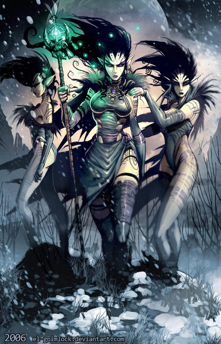 Three Witches by el-grimlock