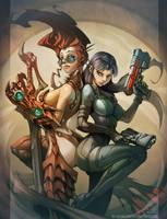 Fantasy and Scifi by el-grimlock