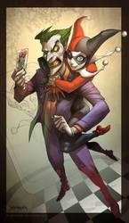 LOVE....... Joker and Harley