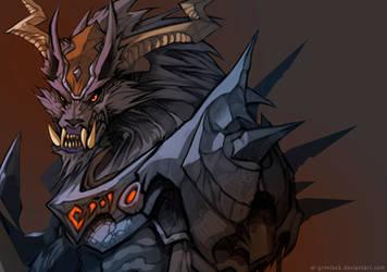 Wolf Warrior Wip by el-grimlock