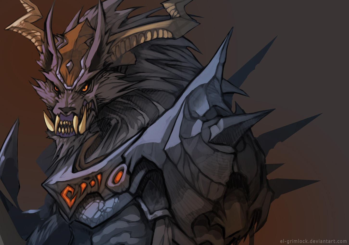Wolf Warrior Wip by el-grimlock