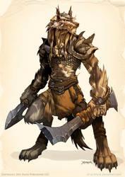 WOLF Warrior by el-grimlock