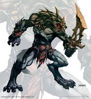 Wolf Warrior 2 by el-grimlock