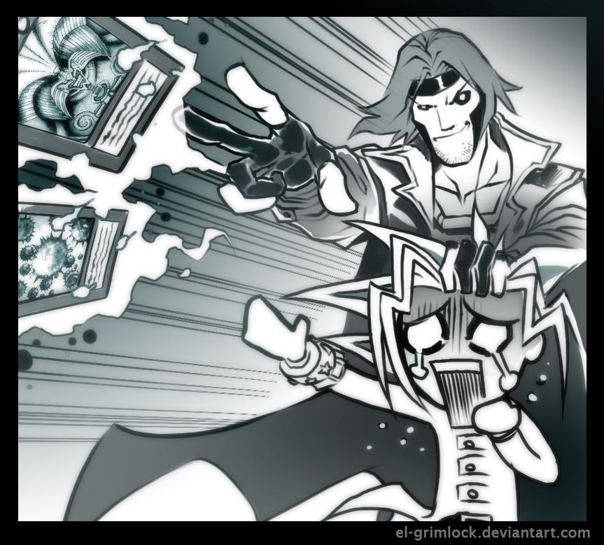 Gambit meets Yugioh by el-grimlock