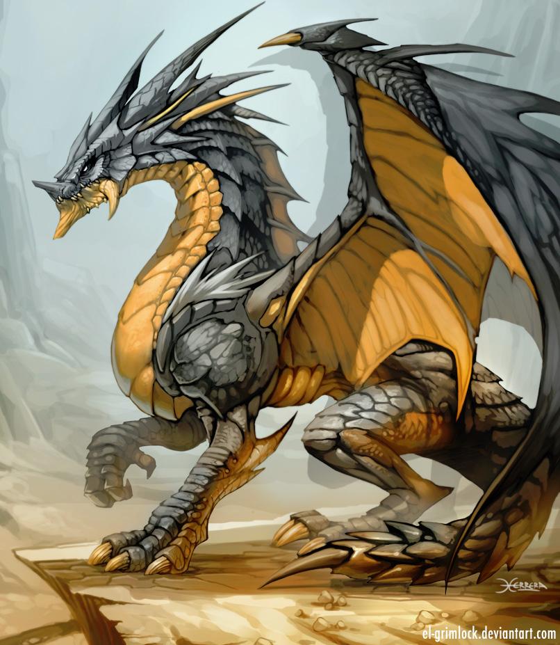 Dragon Drawings: DRAGON Art By El-grimlock On DeviantArt