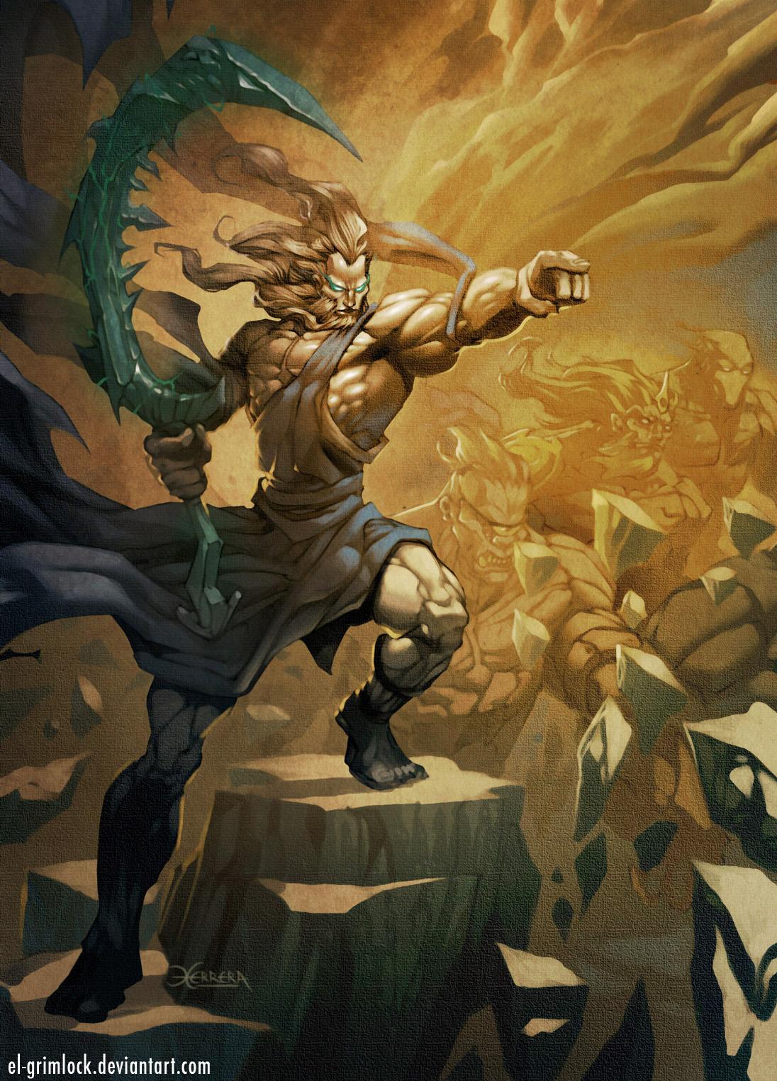 Cronus by el-grimlockCronus Titan
