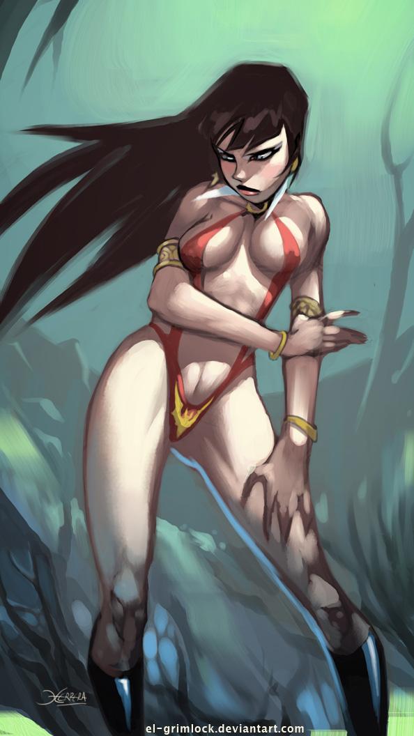 Vampirella by el-grimlock