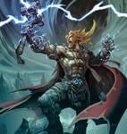 Thor, God of Thunder.