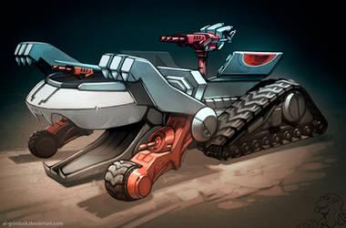 Thundertank by el-grimlock