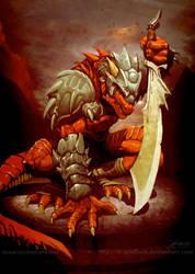 Dragon Warrior by el-grimlock