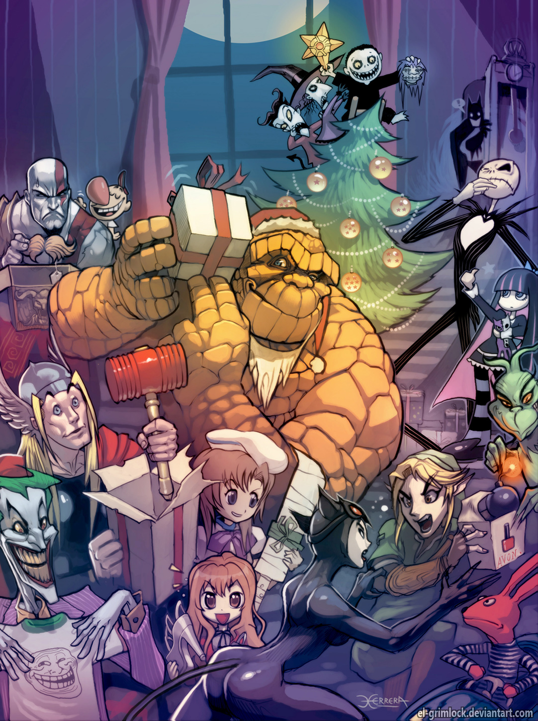 The Thing on Christmas