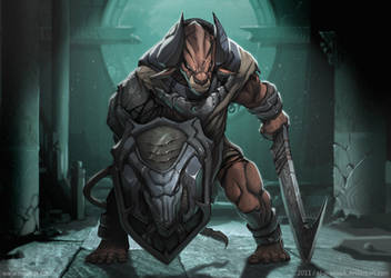 Minotaur by el-grimlock
