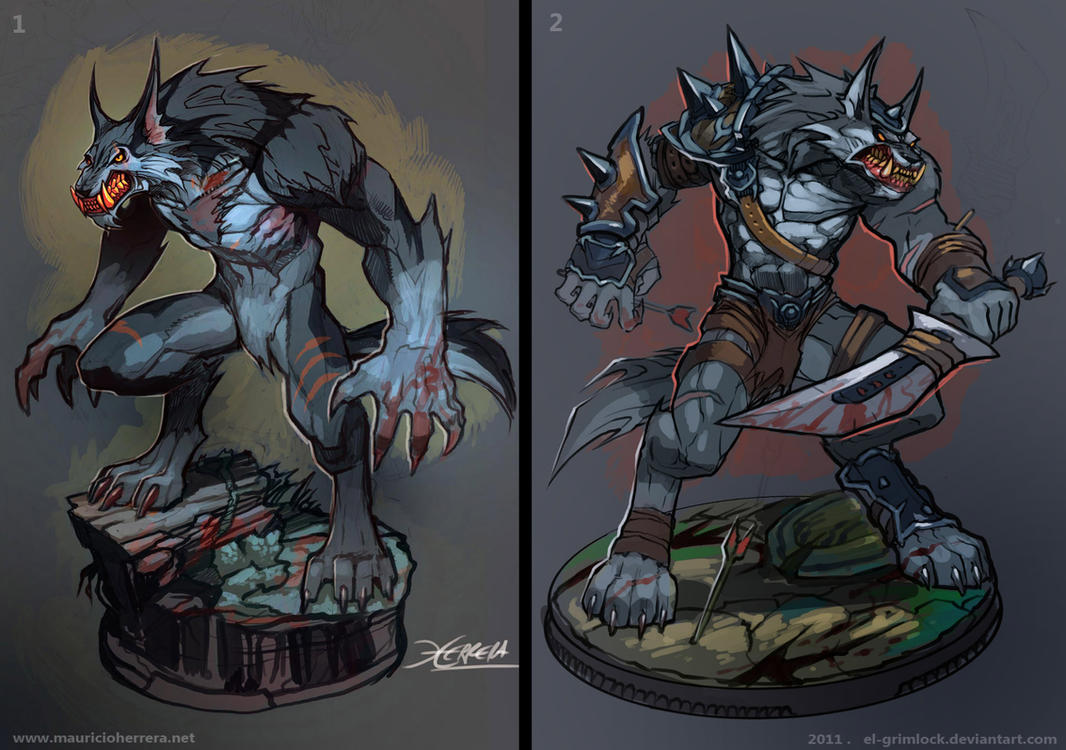 Werewolves by el-grimlock
